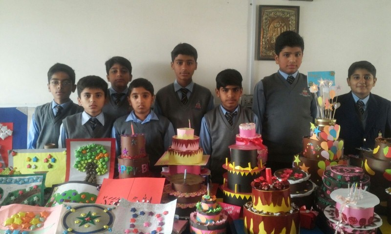 Art and Craft Competition Boys School (03/12/2015)