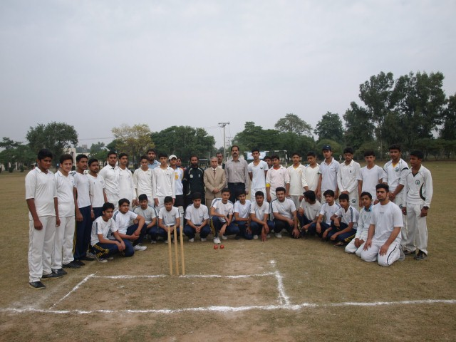 Inter School City/ All Private Schools Zone Sports Competitions 2015 Gujranwala - Cricket Final Matches [10/11/2015]