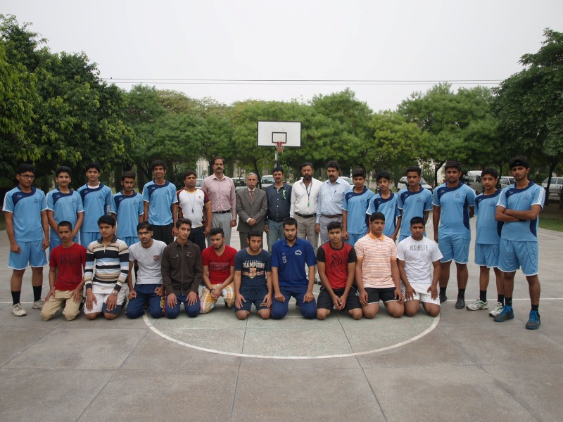 Inter School City/ All Private Schools Zone Sports Competitions 2015 Gujranwala-Basketball (05/11/2015)